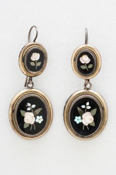 Pair of Earrings Artist/maker unknown, American Early 19th century
