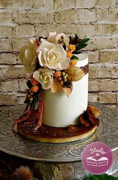 Autumn wedding cake - Cake by Studio53