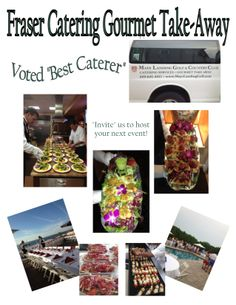 "Mays Landing Golf & Country Club's Fraser Catering Gourmet Take-Away...Voted ""Best Caterer"""