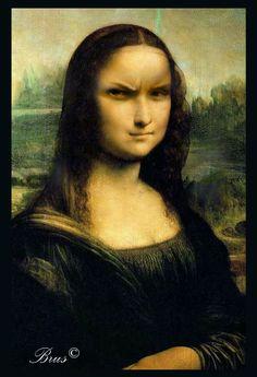 Brus© Mona Lisa, Artwork, Painting, Work Of Art, Auguste Rodin Artwork, Painting Art, Artworks, Paintings, Painted Canvas