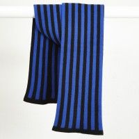 Darkroom Shepherd England Vertigo Stock Scarf, Blue  £65