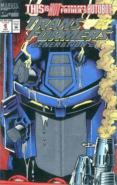 Transformers: Generation 2 #1A (Marvel Comics; 1993 Series).