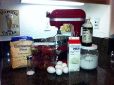Yea! A blog with TONS of recipes that I can use my new Kitchen Aid mixer for:-) Woo Hoo!