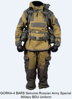 GORKA-4 BARS Genuine Russian Army Special Military BDU Uniform Camo Hunting Suit