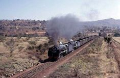 Double 15Fs Tzaneen South Africa 1976 Steam Engine, South Africa, Trains, Engineering, Technology, Train