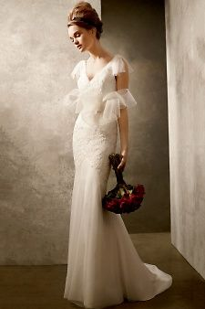 White by Vera Wang | Martha Stewart Weddings