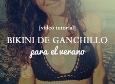 En el vídeo de hoy te enseño cómo hacer un bikini de ganchillo de manera que lo puedas ajustar a tu talla fácilmente. Video tutoriales de ganchillo en mi...