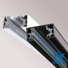 Anodizing aluminium profile for guide rails of LED lamp strips.