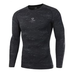 2017 New Fashion Fitness Compression Shirt Men Cosplay Male Crossfit Bodybuilding Men T shirt Clothing Male Crossfit Tops