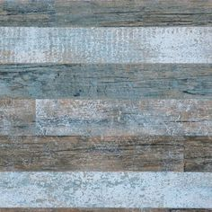 Walls Republic - Brushed Wood Wallpaper, Blue and Brown, Double Roll - Brushed wood wallpaper is the perfect narrative to weathered drift wood. The fresh color hues and soft pastels would complement the brushed wood pattern, giving your walls a beautifully contemporary look.