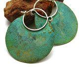 Beautiful patina... verdigris bronze and silver