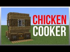 Minecraft 1.8: Redstone Tutorial - Chicken Cooker v2! - YouTube