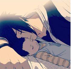 Sasuke and baby.