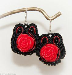 Soutache earrings. Soutache Earrings, Crochet Earrings, Jewelry, Fashion, Moda, Jewlery, Jewerly, Fashion Styles, Schmuck