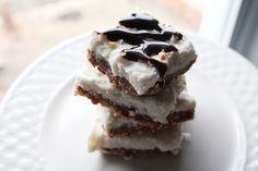 These Coconut Cream Pie Bars Taste Indulgent, But Are Actually Surprisingly Good For You!!
