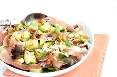 Salade meloen en ham – SKINNY SIX | Chickslovefood.com | Bloglovin'