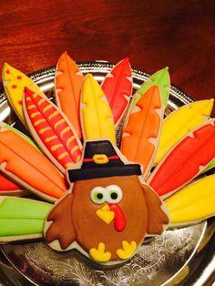 Turkey cookie platter                                                       …