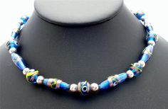 Vintage Murano Venetian Glass Necklace by TheJewelryLadysStore, $65.00