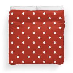 red, white,polka dots, pattern,trendy,modern,cute,elegant,chic