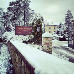 Villa Sparina - L'Ostelliere di Gavi Ligure sotto la neve.. che spettacolo!!!