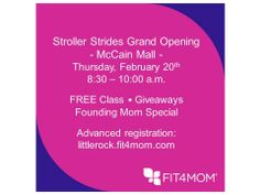 Stroller Strides class location Grand Opening - McCain Mall - Feb 20, 2014.jpg
