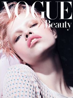 Hailey Clauson by Liz Collins for Vogue Japan February 2012