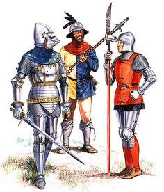 • Lombard knight, late 14th century  • North italian handgunner, late 14th…