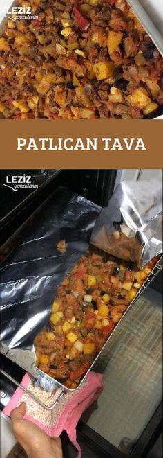 Patlıcan Tava – Leziz Yemeklerim – Et Yemekleri – The Most Practical and Easy Recipes Iftar, Easy Cake Recipes, Eggplant, Chili, Food And Drink, Soup, Pasta, Yummy Food, Salad