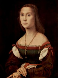 1507-08 Urbino: Portrait of a Young Woman (La Muta) Note: straightened index finger http://www.marcheworldwide.org/html/muta.asp?lingua=en