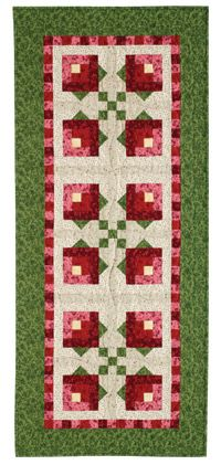 Free Quilt Pattern: Rosebud