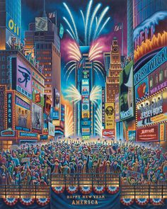 Times Square by Eric Dowdle