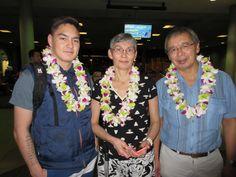 We love our international visitors as well!  Welcome to Hawaii Inooraq, Arent and Helene!! #lethawaiihappen #leigreeting #hawaii #honolulu