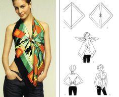 Marmalade.hu - Így hajtogass kendőből ruhát, topot és táskát!