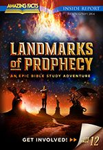 """The Bible provides many prophetic """"landmarks"""" to safely guide us through to the heavenly Promised Land. Pastor Doug Batchelor takes you on an exciting, faith-building fly over of these prophecy high points through history and uncovers what's still to come!"""