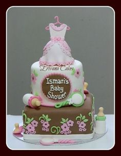 Cute for a girl baby Shower! by beatrix.papp