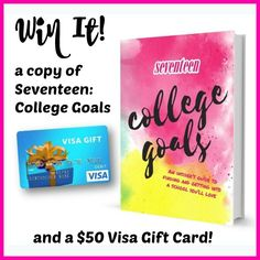 Disclosure: Bluestreak Books sent me a copy of Seventeen: College Goals AND is providing a prize pack for one of my lucky readers!  Keep reading to learn how you can enter to win a copy of the book and a $50 gift card for your high school student. My middle daughter just finished her Sophomore year of high school – in… Read More »