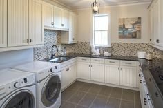 Stylish, functional, and necessary: The Laundry Space | CalAtlantic Homes' Victoria Model in The Island at Twenty Mile
