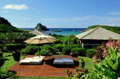 Fernando De Noronha Luxury Hotels | This hotel is idea for couples and willing to pay a premium.