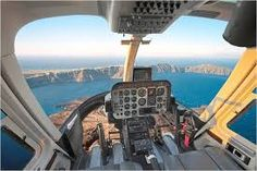 Helicopter view of the Caldera, Santorini island, Greece - selected by www.oiamansion.com
