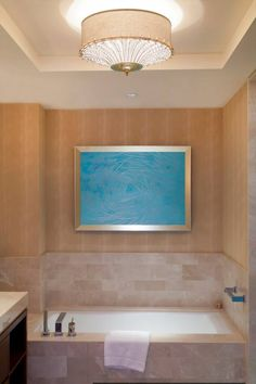 Four Seasons Baltimore, USA. #hotel #restroom #relaxing #bath #luxury #design #lighting #lamp
