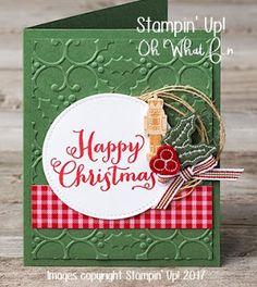RubberFUNatics: Homespun Christmas