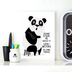 Piękny plakat z wesołym motywem.  Plakaty sprzedawane są bez ramek. Wysyłka w sztywnej tubie kartonowej.  **Wymiary i/lub waga:** 30x40cm  **Wykorzystane materiały:** Druk na papierze...