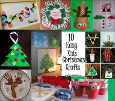 fun kids christmas crafts
