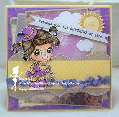 Saffire's Stamping: Alicia Bel Challenge #17 Spring
