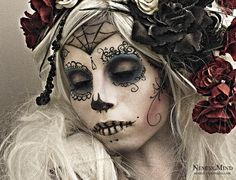 Day of the Dead - a Mexican holiday. The celebration takes place on November 1st and 2nd.