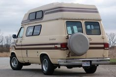 1985 Chevrolet G20 Chevy Van Conversion Van