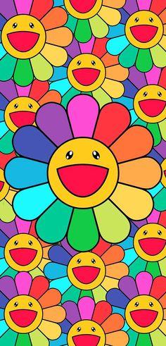 Murakami Flower Wallpaper