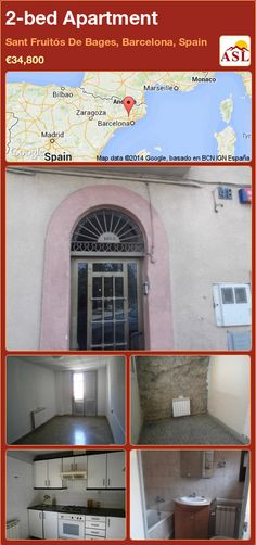 2-bed Apartment in Sant Fruitós De Bages, Barcelona, Spain ►€34,800 #PropertyForSaleInSpain