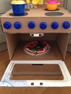 This diy cardboard washing machine is a great addition to your kids a kiwi mum to 2 boys living in the uk i blog about photography solutioingenieria Choice Image