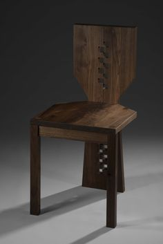 Furniture: Solid Wood Chair | Jessica Lynne Swida | Archinect